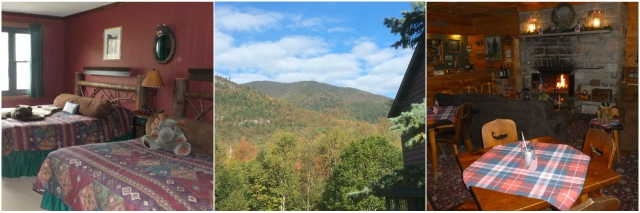 The Inn at Whiteface has wonderful views from their cozy rooms.