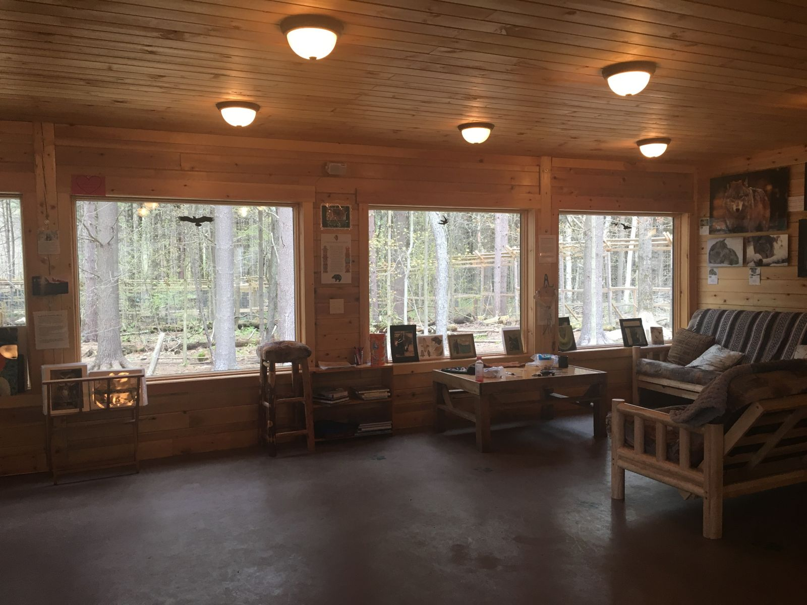 Adirondack Wildlife Refuge Education Center.
