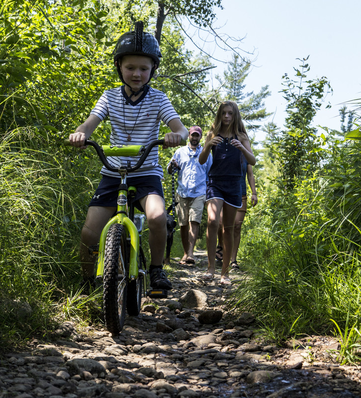 Bike or hike? Many of our trails are multi-use.