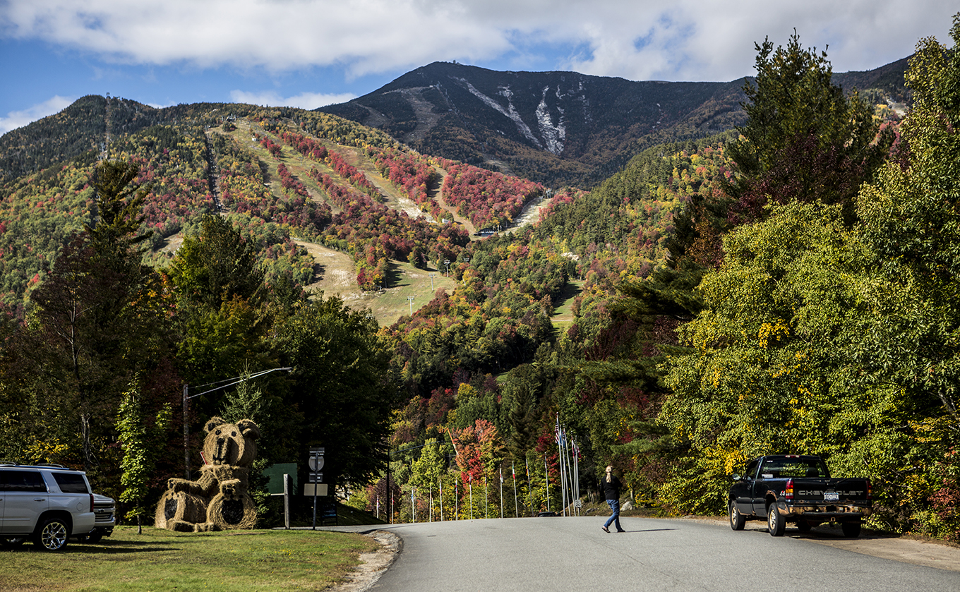 The Whiteface Mountain Ski Center is a great place in fall.