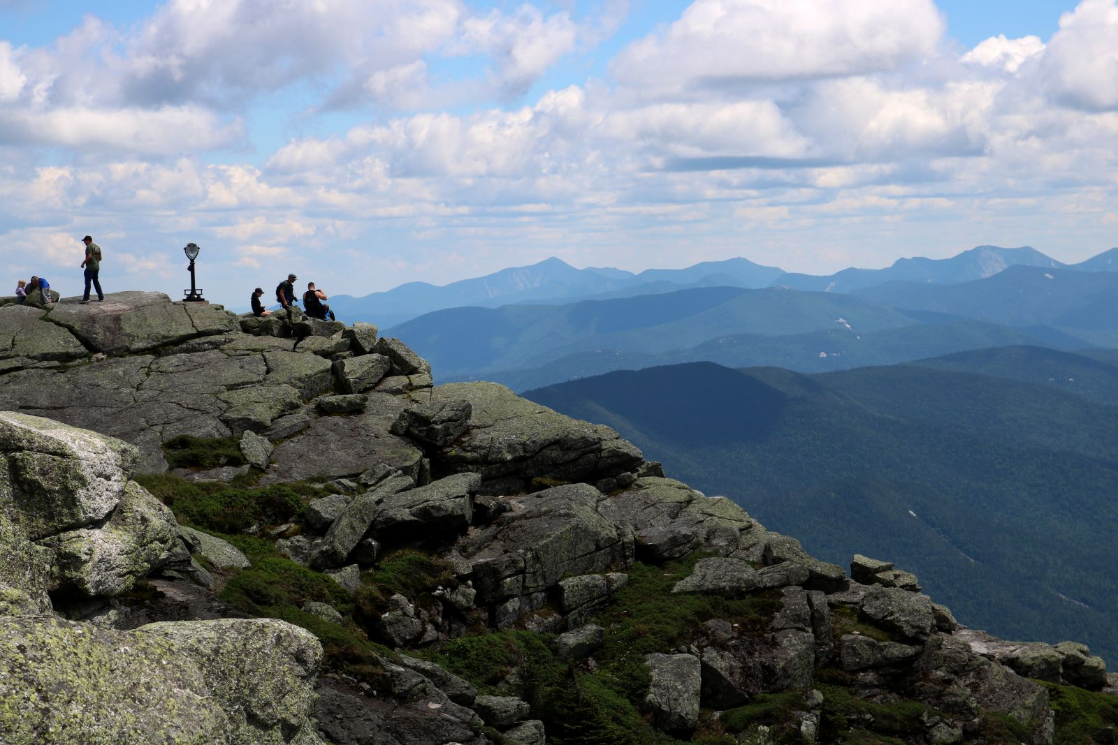 Whiteface's summit is completely exposed to the elements.