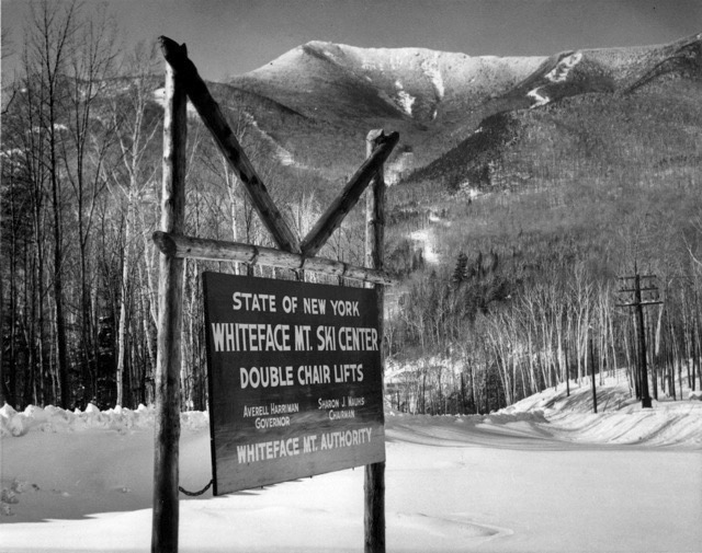 Whiteface in the 1950s.