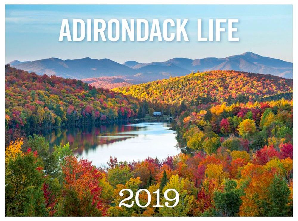 Give a gorgeous reminder of the Adirondacks with the Adirondack Life calendar.