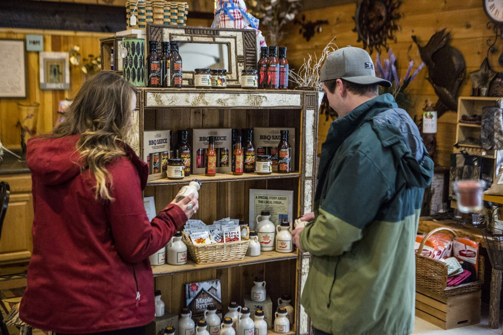 Local goodies like real maple syrup can surprise someone who never had a real Adirondack flapjack breakfast.