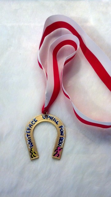 Uphill Kids Fun Run Medal