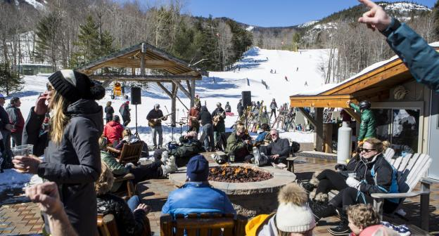 Catch some of the great racing action at Whiteface Mt.