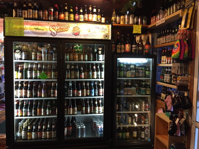 250 plus draft beers at the North Pole Resort General Store! Great gift for the beer lover!