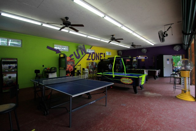 The Fun Zone. I do love to play ping pong.