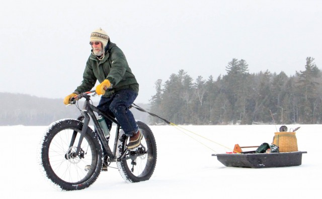 There is always a use for your fat tire bike