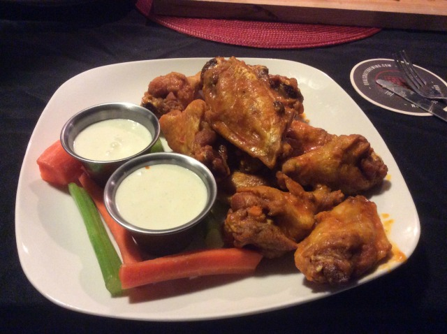 Beware the wings? Not these wings. I should have told my server!