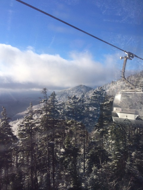 View from the Cloudsplitter Gondola!