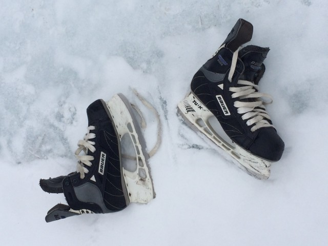 Bring your own skates or rent from the youth center.