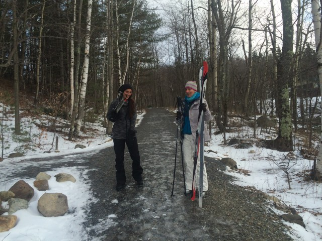 no snow no problem, there's snow in the whiteface region