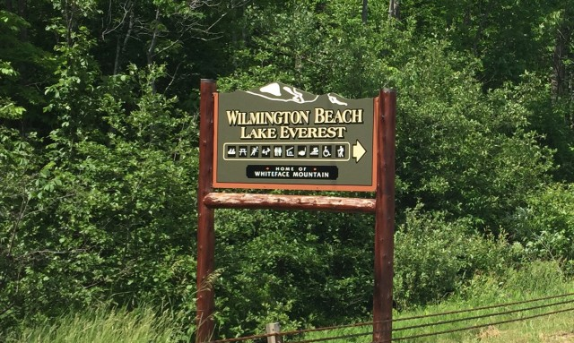 Wilmington Beach sign
