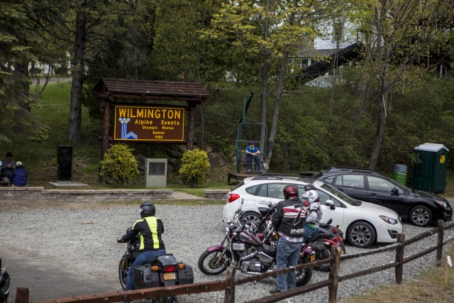 Grab lunch & gas at the local market and check out the little picnic area in the middle of town. Now that you've refueled, it's time to head up Whiteface!