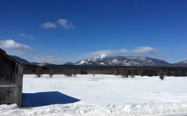 Spectacular Whiteface Mt. View