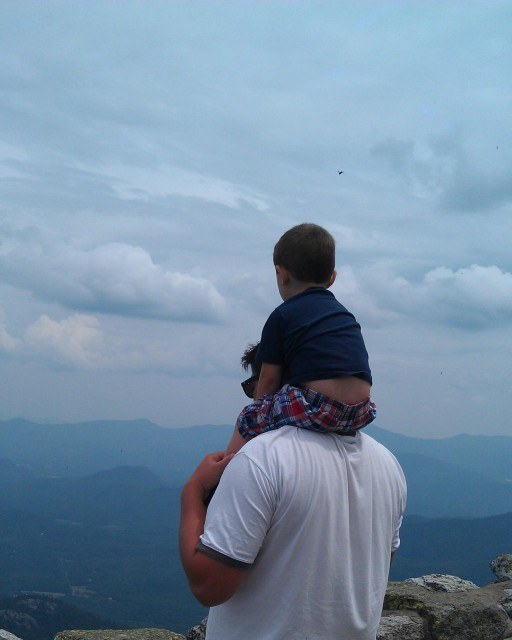 There's an amazing view from the top - on a clear day you can see Vermont and Canada.