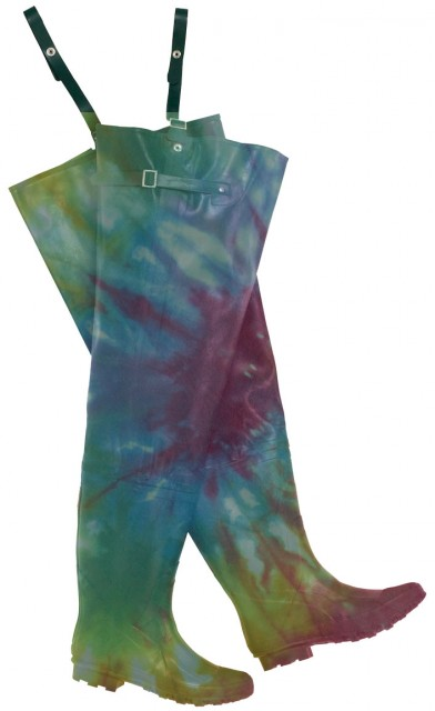 You'll be fly-ing high in these hippie inspired waders.