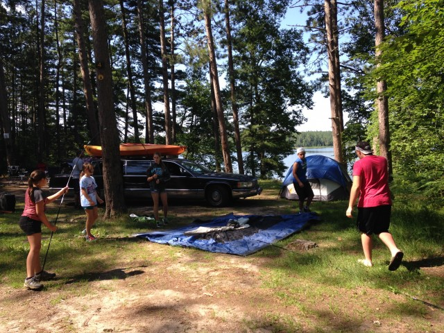Tents Up, Kayaks Down - Adventure Zone, Soon!