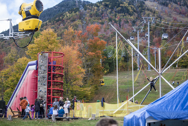Beer tent, accordions, bungee jumping, and scenic gondola rides. Our Oktoberfest is the best of history and modernity.