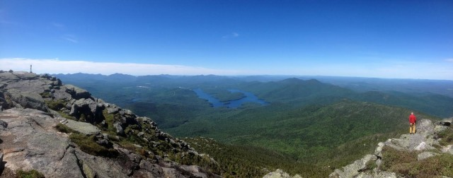 View from the top of Whiteface