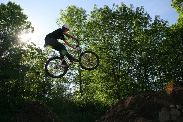 Air Time at the Dirt Jumps