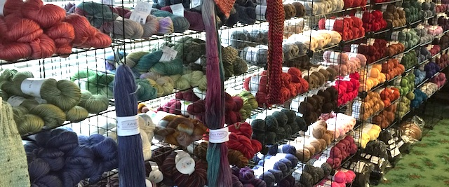 Craft your own alpaca creations with the wonderful yarn choices at The Alpaca Shoppe.