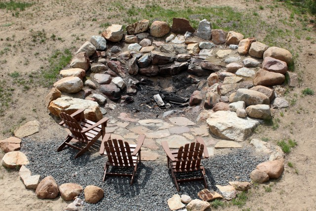 This is one of the biggest firepits I've ever seen.