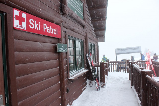 Ski patrol stations are located all over Whiteface Mountain and enable ski patrollers to get to an accident quickly.