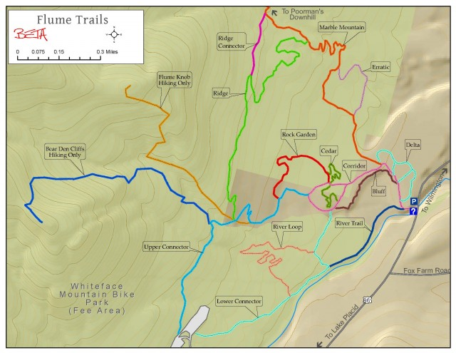 Flume Trails Map
