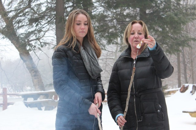 Marshmallows are one of many reasons to visit High Falls Gorge this winter