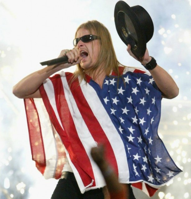 Kid Rock at his most patriotic.