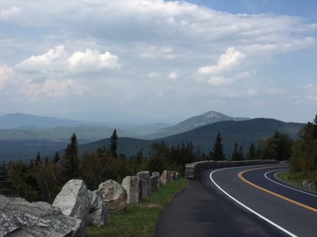 The Whiteface Veterans Memorial Highway.