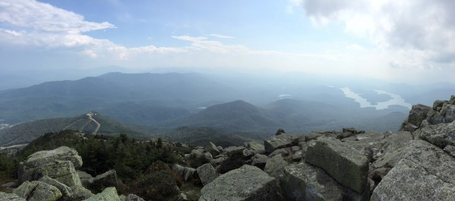 One of Whiteface's rugged ridge lines.