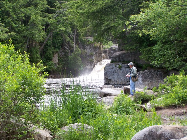 Fishing in the Wilmington Flume