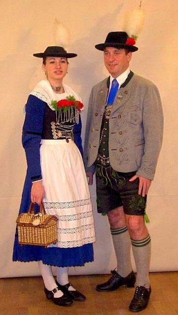 Party pants - better known as lederhosen in Bavaria