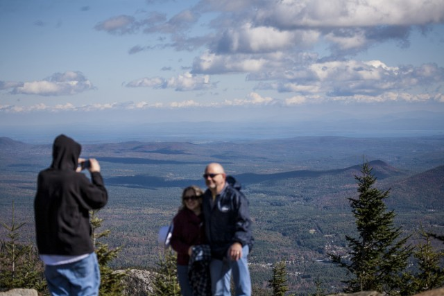 The view from the top of Little Whiteface is not to be missed