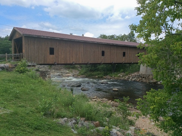 The Jay Covered Bridge in the Douglas Memorial Park.