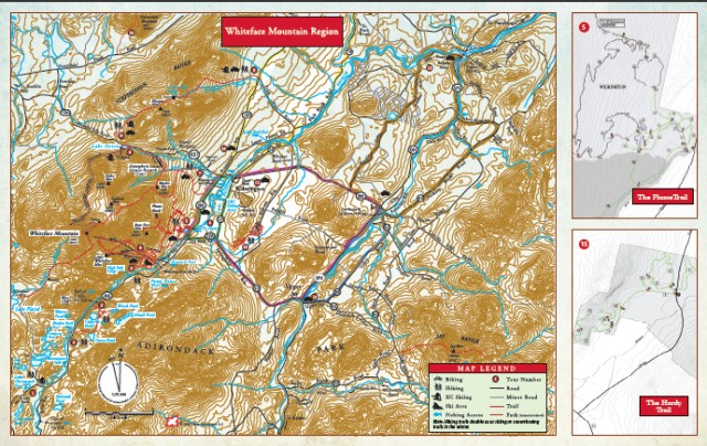 Whiteface Region Recreation Map