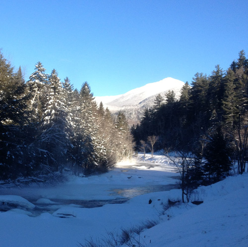 West Branch Ausable in winter