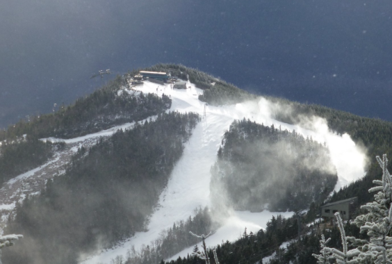 snowmaking on whiteface