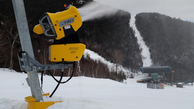 New snow guns = lots of snow!