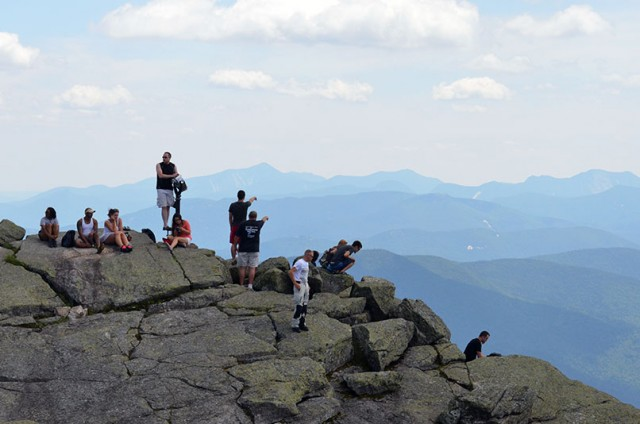 Top of Whiteface Memorial Highway - what a view!
