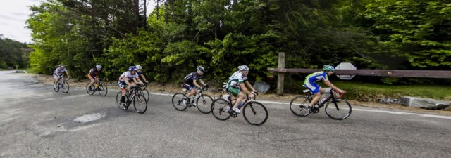 Whiteface Mountain Uphill Bike Race